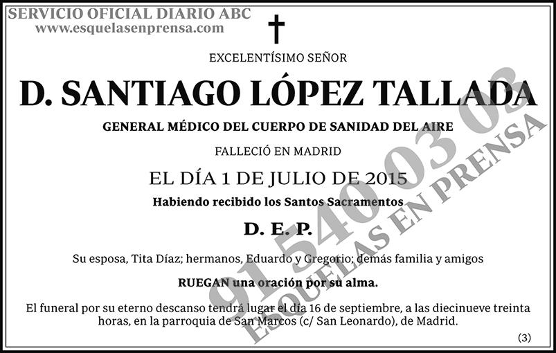 Santiago López Tallada